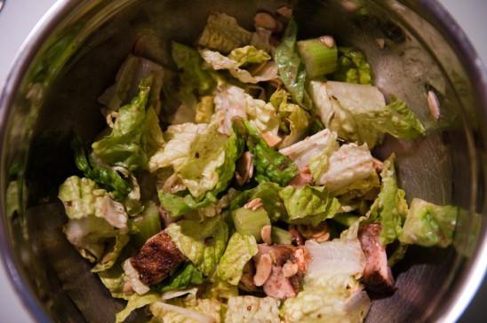Chopped Pork Salad