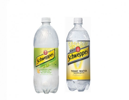Schweepes tonic or lemon